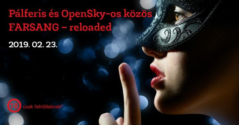 Fálferis és OpenSky-os Farsang - reloaded
